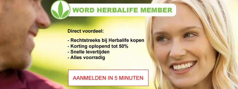 Herbalife member worden - bepaal zelf je korting!
